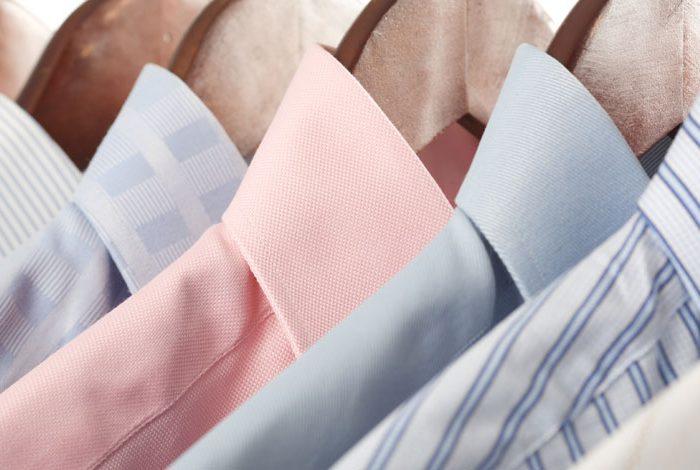 اینفوگرافیک راهنمای پارچه های پیراهن مردانه